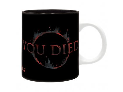 dark souls mug 320 ml you died subli with box x2