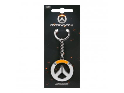 Overwatch klíčenka logo