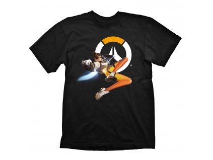 Overwatch tričko Tracer hero