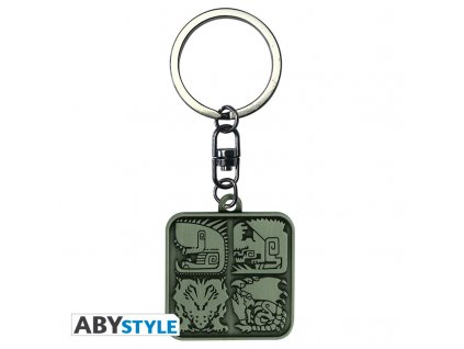 monster hunter porte cles symboles x4