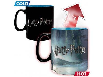harry potter mug heat change 460 ml patronus avec boite x2 (1)