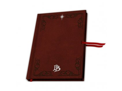 the hobbit premium a5 notebook bilbo baggins x4