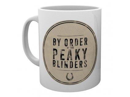 peaky blinders mug 320 ml by order of subli box x2
