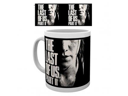 the last of us part ii mug 320 ml ellie face subli box x2