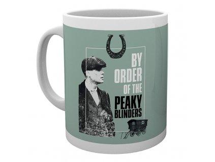 peaky blinders mug 320 ml par ordre gris subli boite x2