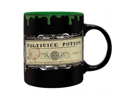 harry potter mug foil 320 ml polyjuice potion box x2