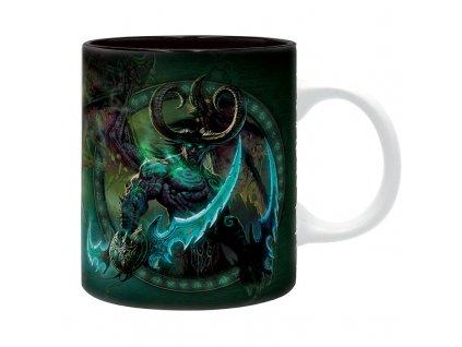 world of warcraft mug 320 ml illidan subli with box x2