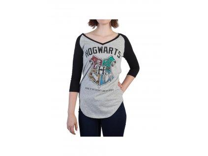 Harry Potter dámské tričko Hogwarts