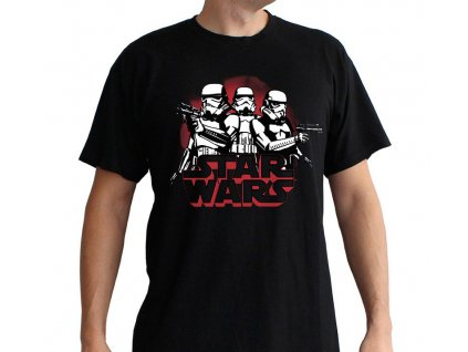 star wars tshirt stormtroopers man ss black basic