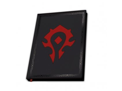 world of warcraft a5 notebook horde x4