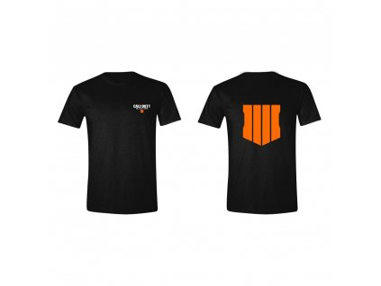 Call of Duty Black Ops 4 tričko Back and front logo