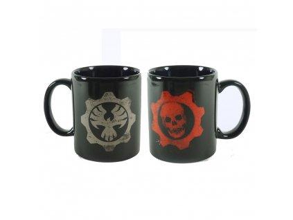 Gears of War hrnek logo