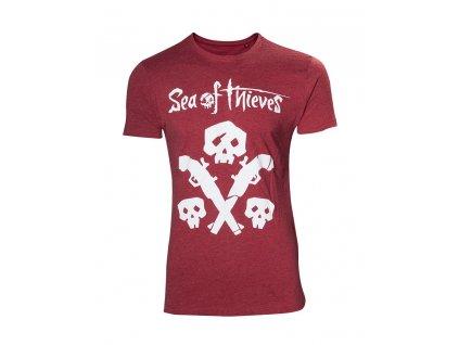 Sea of Thieves tričko Skull and guns