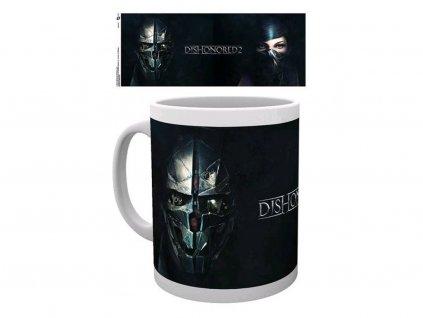 Dishonored 2 hrnek faces