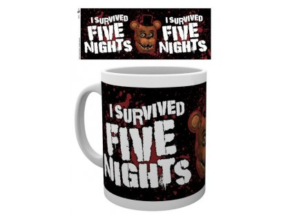 Five Nights at Freddy´s hrnek I Survived