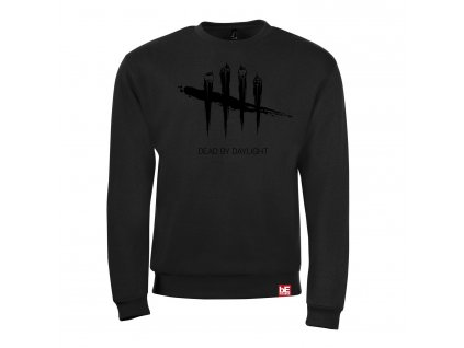 Dead by Daylight mikina black on black