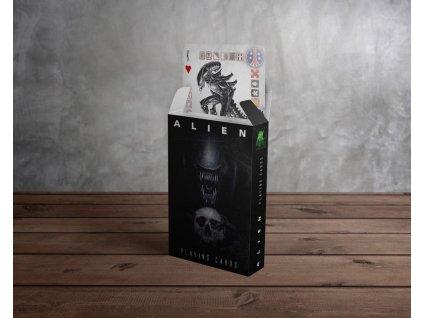 Alien hrací karty
