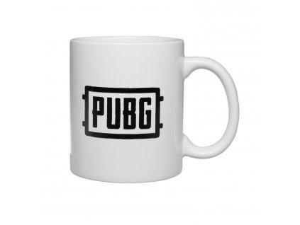 PUBG hrnek PUBG logo 2