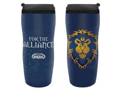 world of warcraft travel mug alliance