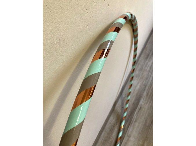 Obruč hula hoop pro začátečníky Bronzová Mint