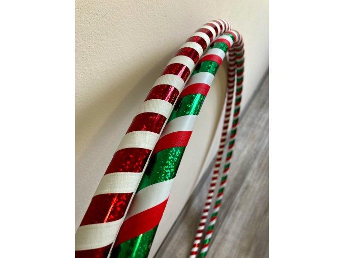 Cestovní obruč hula hoop pro začátečníky vánoční