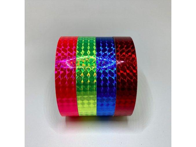 Dekorativní pásky na obruče Prismatic Lens