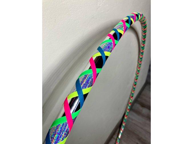 Obruče hula hoop fitness dance na hooping