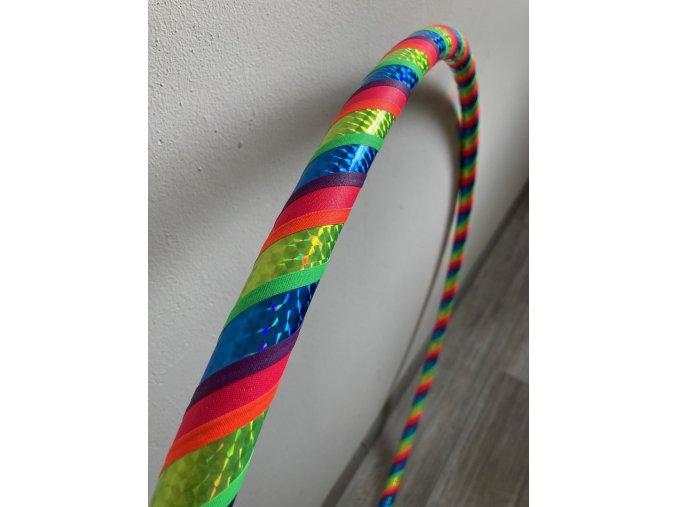 Fitness obruč hula hoop duha