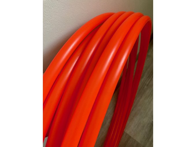 Polypro obruč hula hoop UV red