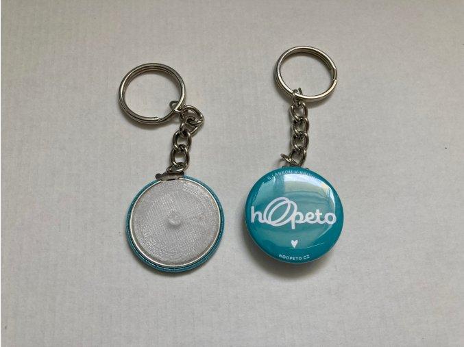 Otevírač obručí klíčenka