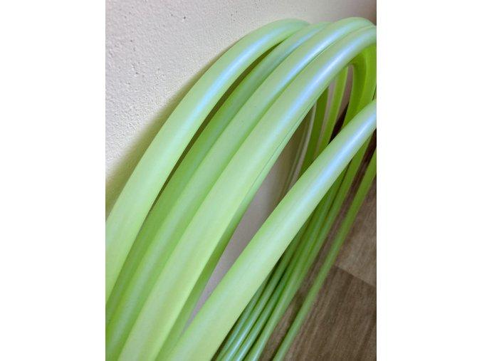 polypro hula hoop Hoopologie Hoopeto Green tea