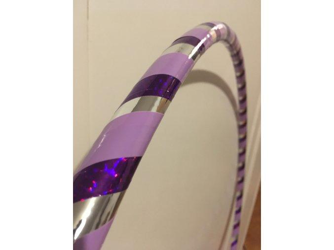 Obruč hula hoop pro začátečníky fialová