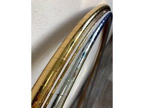 Obruč hula hoop pro začátečníky zlatá a stříbrná