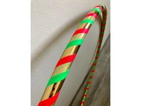 Fitness obruč hula hoop pro začátečníky - Jarní 95 cm