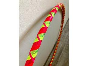 Fitness obruč hula hoop pro začátečníky - CikCak Neon 95 cm