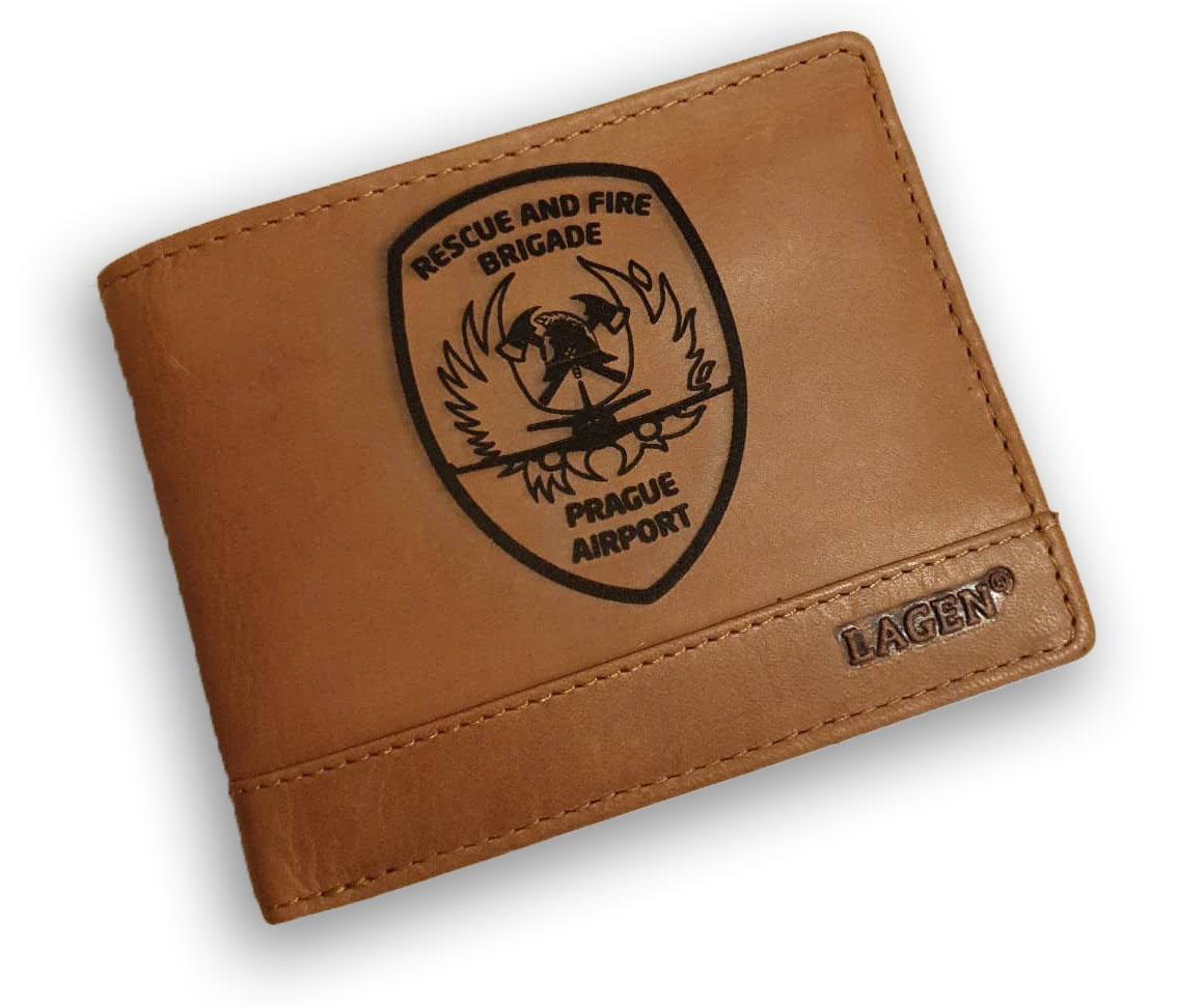 Kožená pánská peněženka s vlastním motivem