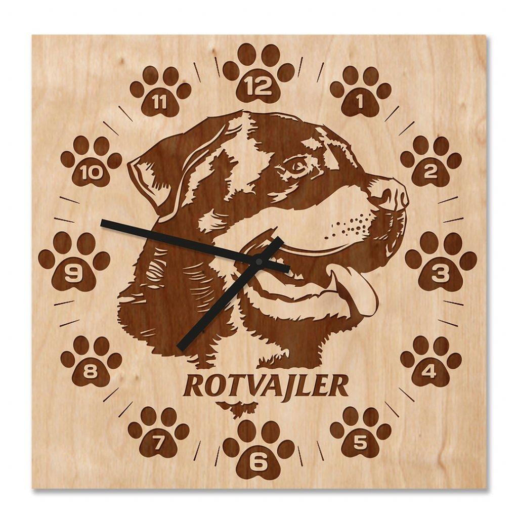 Nástěnné hodiny Rotvajler