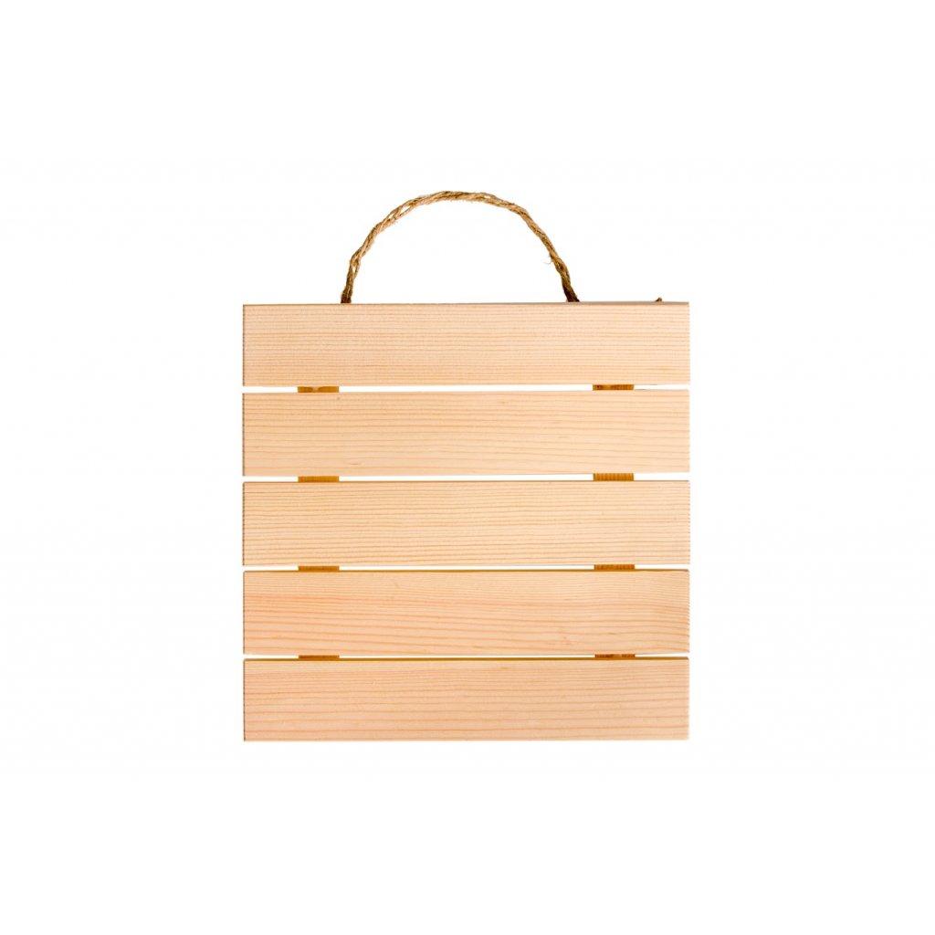 Dřevěná cedulka na pověšení