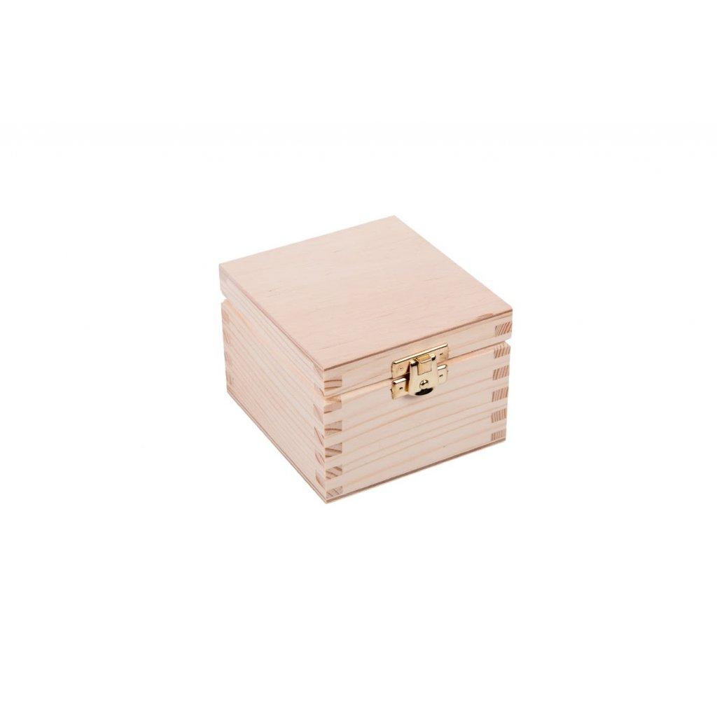 Dřevěná krabička XVI
