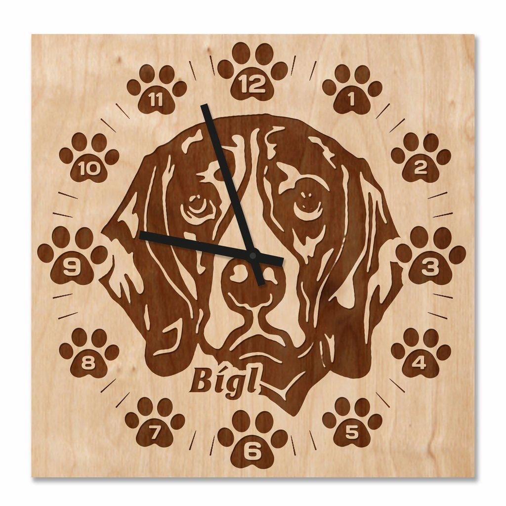 Nástěnné hodiny Beagle