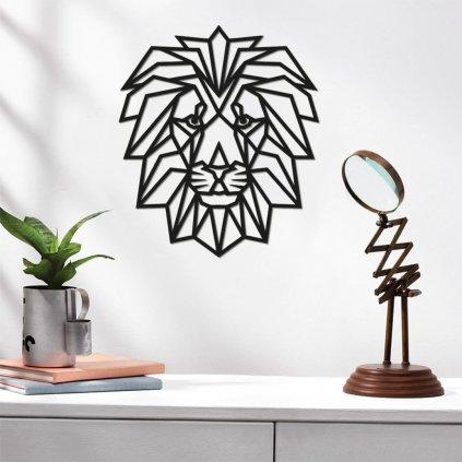 Dřevěná dekorace - lev