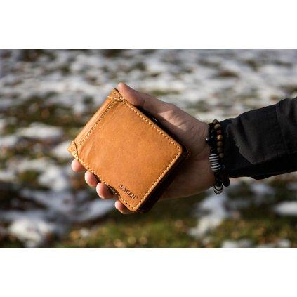 Celokožená peněženka s vlastním motivem