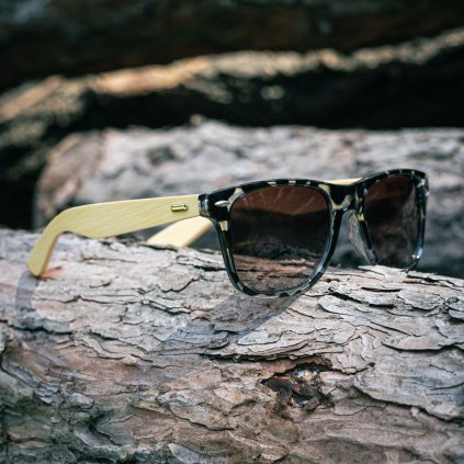 Sluneční brýle s vlastním textem - textura