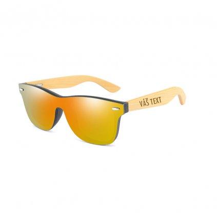 Sluneční brýle s vlastním textem - limitovaná edice