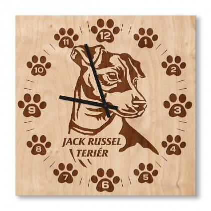 Hodiny Jack Russel Teriér