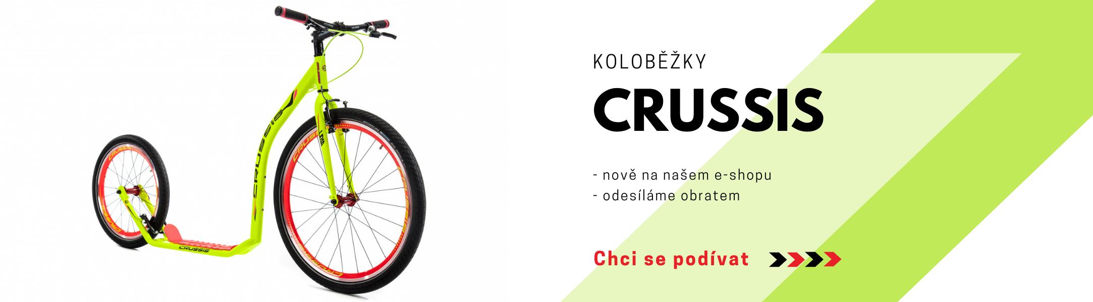 Koloběžky Crussis