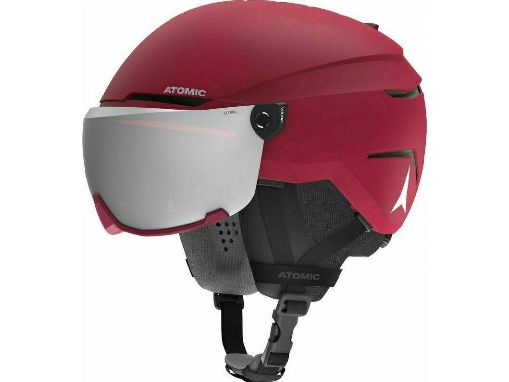 lyžařská helma Atomic Savor Visor Stereo