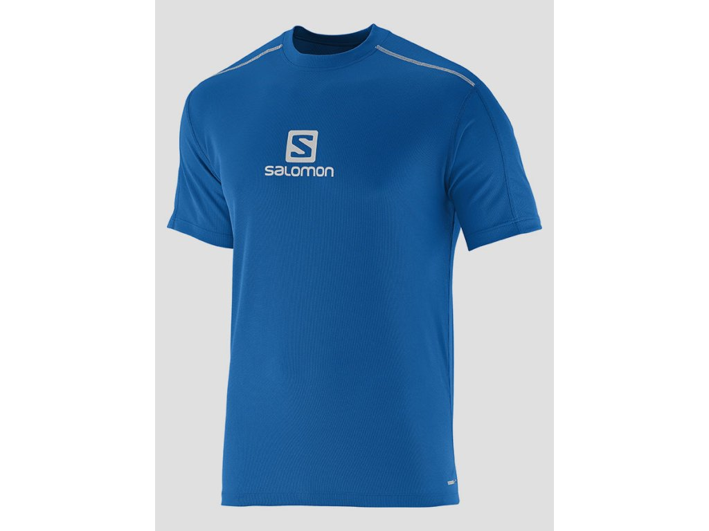Triko sportovní SALOMON Stroll Logo SS Tee