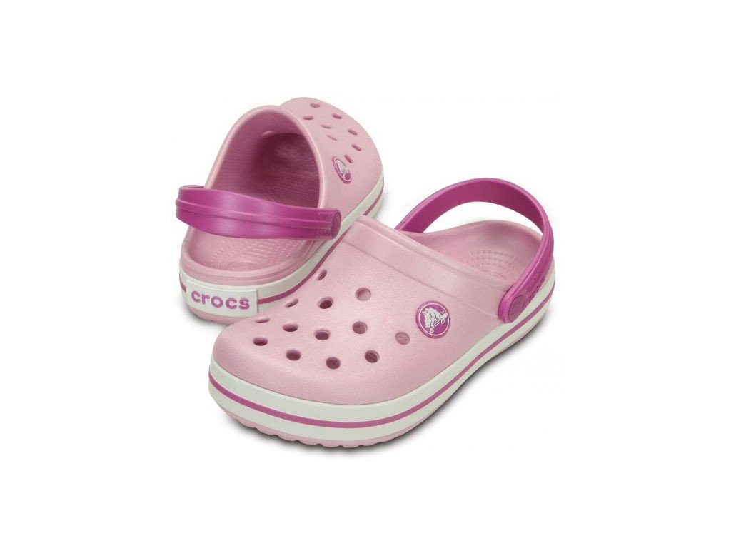 Crocs Crocband Kids ballerina pink/wild orchid