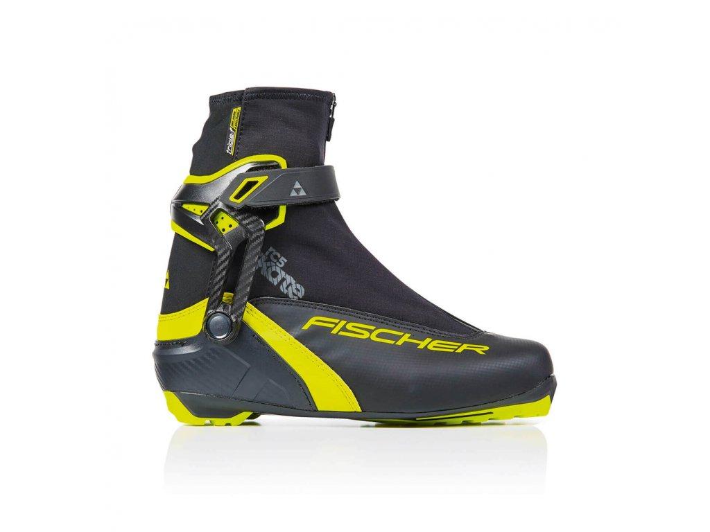 Fischer RC5 Skate, black/yellow, 19/20
